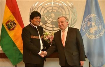 Bolivia apoya la iniciativa de una solución pacífica al conflicto en Venezuela