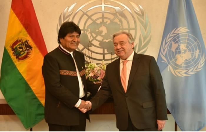 Una propuesta del secretario general de la ONU, Antonio Guterres