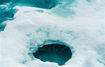 La NASA descubre un misterioso hueco oculto en un glaciar antártico ¿De qué se trata?