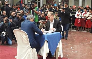 Firman contrato para la segunda fase de la planta solar en Oruro