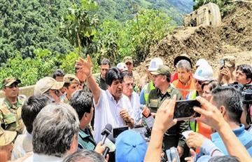 Morales instruye habilitar vuelos humanitarios por emergencias en el norte de La Paz