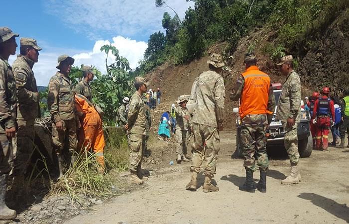 Las fuertes lluvias afectan al río Beni