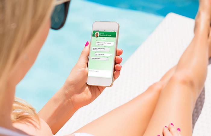 Solo los usuarios de Iphone podrán desbloquear WhatsApp con su huella. Foto: Shutterstock