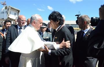 Morales saluda disposición del papa Francisco a mediar en el conflicto en Venezuela