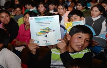 Morales recuerda 10 años de vigencia de nueva Carta Magna