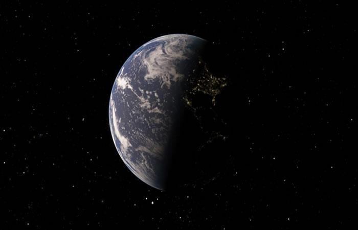 Satélite chino registra la cara oculta de la Luna y la Tierra