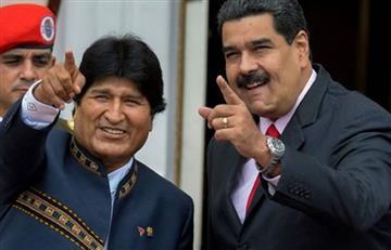 """Morales afirma que """"enVenezuela no existe problema de democracia"""""""