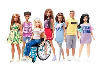 Barbie lanzará muñecas en silla de ruedas y con prótesis