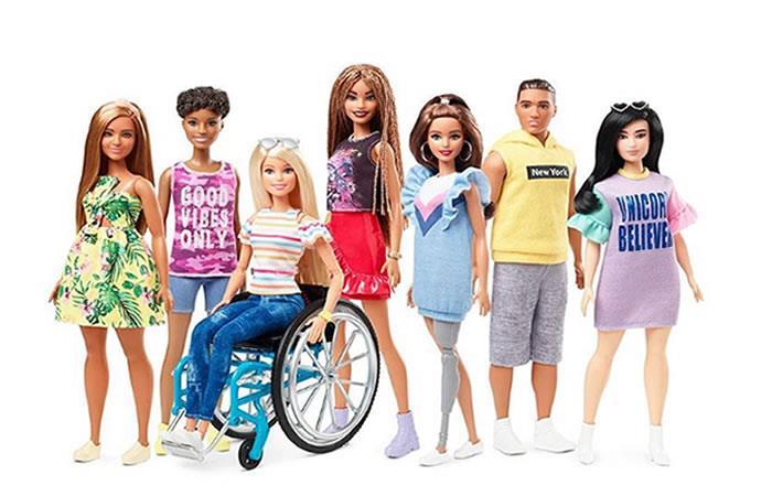 Mattel representa diferentes discapacidades físicas en su nueva colección. Foto: Instagram/Barbie