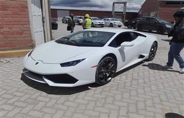 ¡Sorprendente! El Lamborghini Huracán, un auto único que llegó a Bolivia