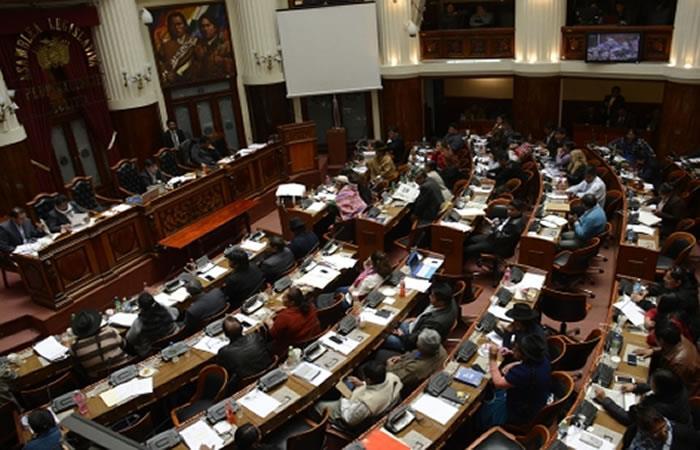 El documento en las próximas horas pasará a la Cámara de Senadores. Foto: ABI