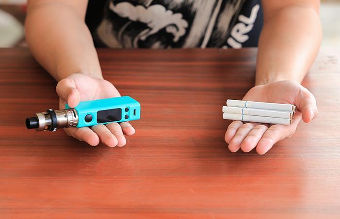 ¡Presta atención! Los cigarrillos electrónicos también representarían riego para tu salud