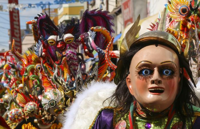 Fiestas en Bolivia 2019. Foto: Shutterstock