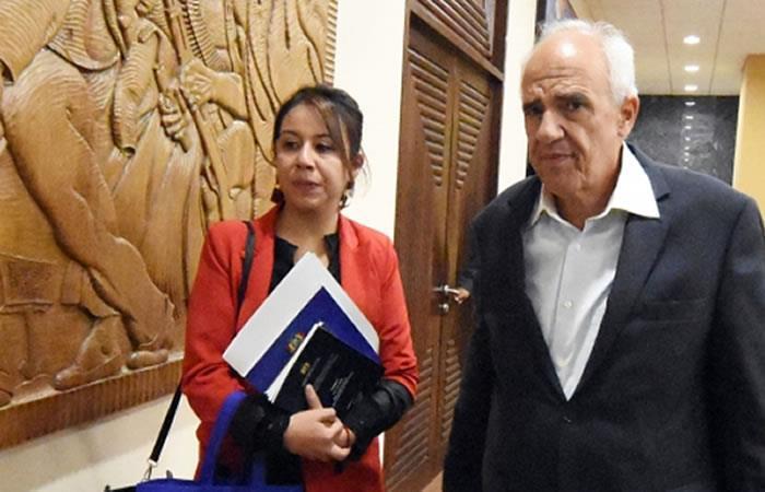 Samper lamentó que el presidente Iván Duque, haya sido el promotor de la desintegración de Unasur. Foto: ABI