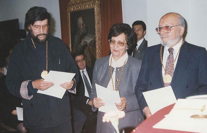 Fotografía cedida por la familia Mesa y tomada en 1995. Foto: EFE