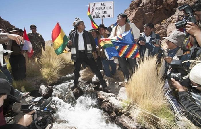 Aguas de Silala son 'encausadas' hacia Chile según Morales
