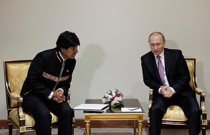 Evo Morales visitará Rusia a mitad de año