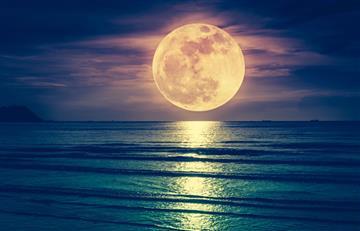 ¿Superluna? Aún la podrás observar hasta el miércoles