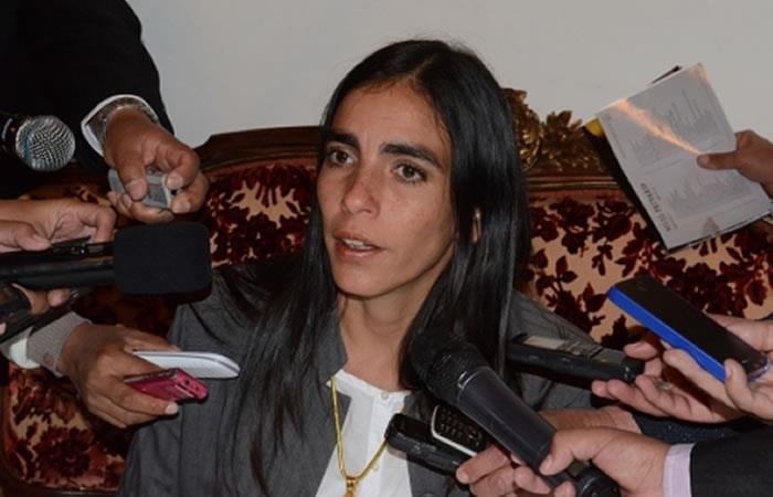 Ministra de Salud asegura que el SUS beneficiará a las de 5 millones de bolivianos