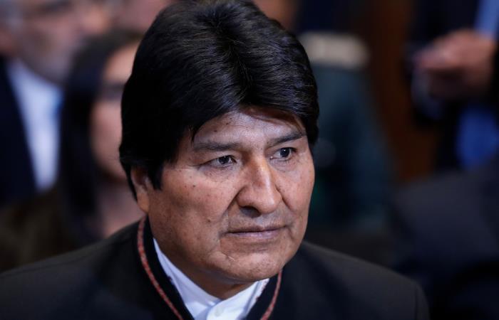 Morales expresa su apoyo al Gobierno de Nicolás Maduro. Foto: AFP