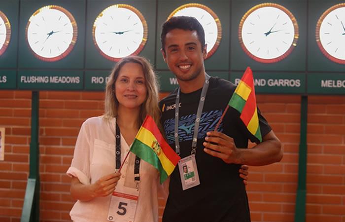El tenista boliviano se propone ahora una meta más ambiciosa. Foto: Twitter