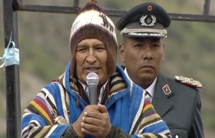 Encuesta ubica a Morales como líder en intención de voto seguido por Mesa