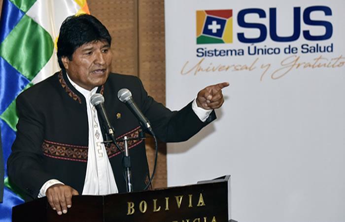 Esta política social beneficiará a más de 5 millones de bolivianos. Foto: AFP