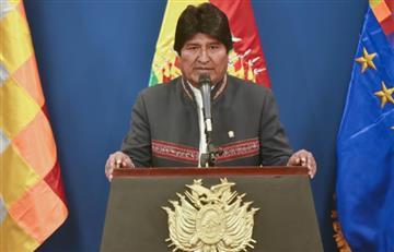 Evo Morales hace un llamado para defender a Venezuela
