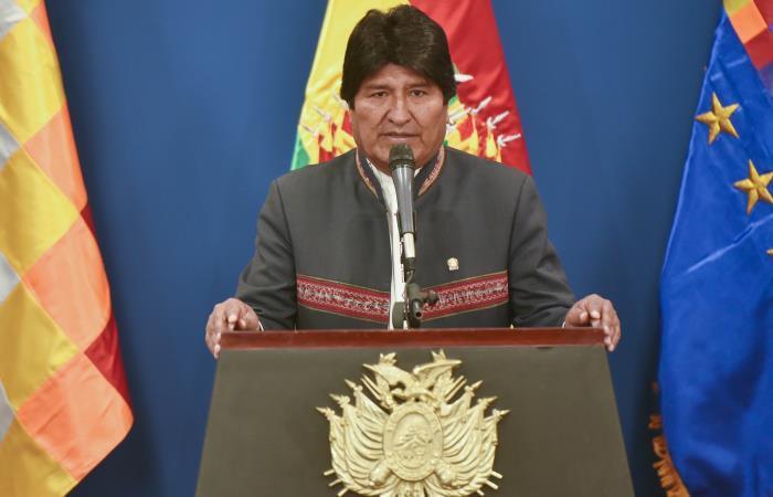 Morales es uno de los principales aliados políticos del presidente de Venezuela. Foto: EFE