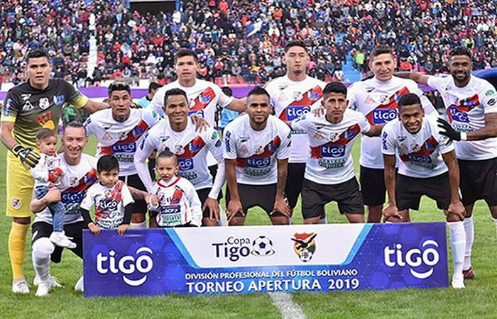 Nacional Potosí está puntero con 16 unidades en el torneo boliviano. Foto: Twitter