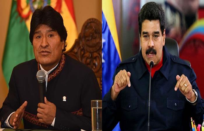 11% de los consultados apoya el respaldo de Morales a Maduro. Foto: EFE