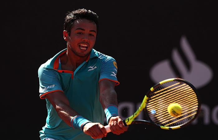 Hugo Dellien, representante nacional en el Brasil Open. Foto: EFE
