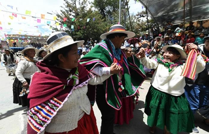 Música y tradición en el Anata Andina. Foto: ABI