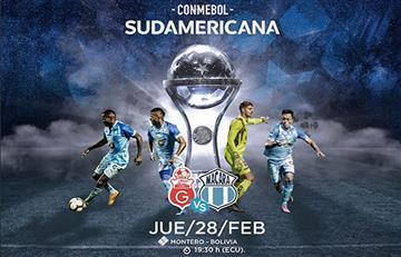 Guabirá busca repuntar también en la Sudamericana para eliminar al Macará