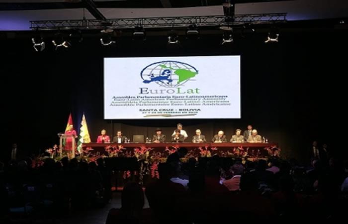 EuroLat es una asamblea parlamentaria multilateral compuesta por 150 miembros. Foto: ABI