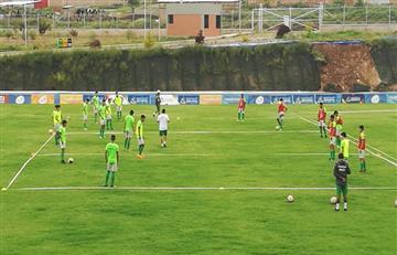 Selección nacional Sub 17 continúa entrenando en la Tamborada
