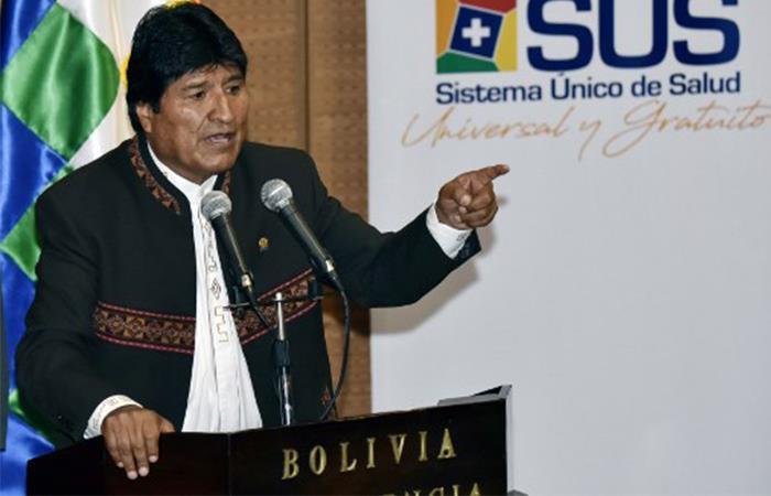 Evo Morales apoya a Nicolás Maduro. Foto: AFP