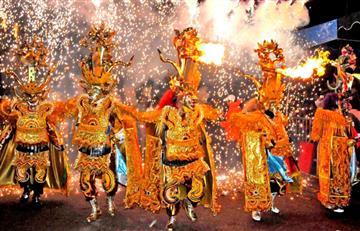 Carnaval de Oruro deslumbró a más de 300 mil visitantes