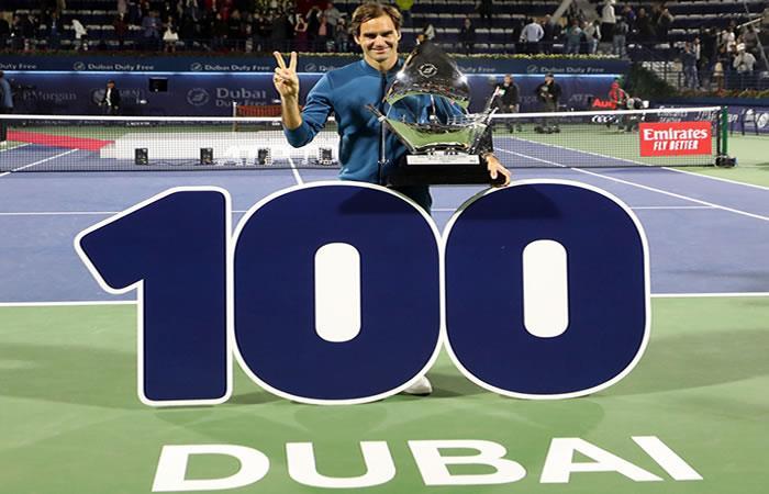 Federer continúa devorando récords. Foto: AFP