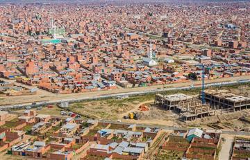 Morales saluda el 34 aniversario de creación de El Alto
