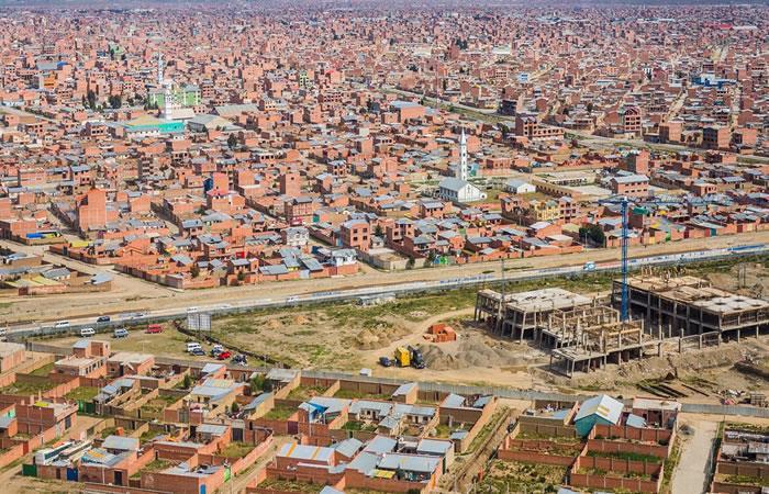 Vista sobre la ciudad de La Paz. Foto: Shutterstock
