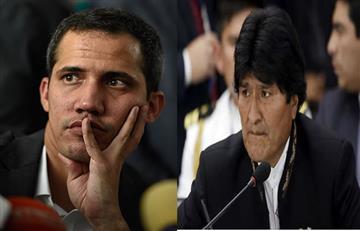 """Morales contra Juan Guaidó: """"Parece un virrey colonial"""""""