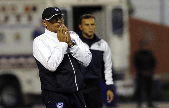 Clausen durante el partido de la Copa Libertadores contra el Flamenco. Foto: AFP