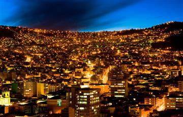 ¿La noche de La Paz, una de las 10 ciudades maravilla del planeta?