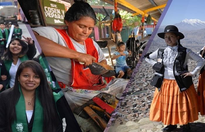 Morales felicita a la mujer boliviana en su día