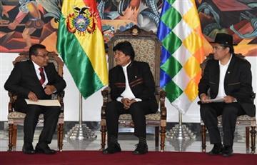 Morales recibe cartas credenciales de los nuevos embajadores de Cuba y Costa Rica