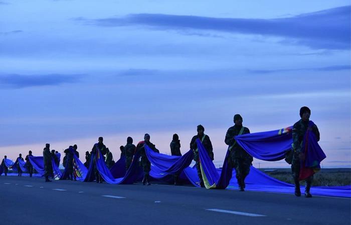 El 10 de marzo de 2018 los bolivianos salieron a las calles. Foto: Twitter