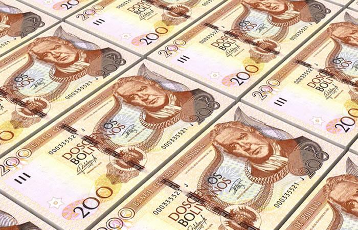 Billetes del Estado Plurinacional. Foto: Shutterstock
