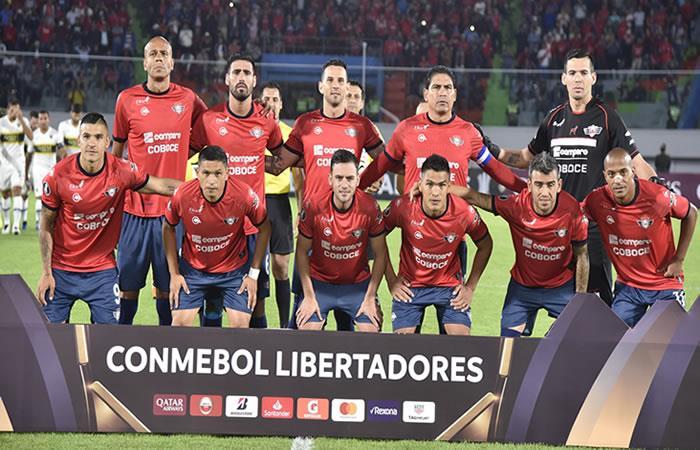 Equipo boliviano Wilstermann en la Copa Libertadores. Foto: AFP