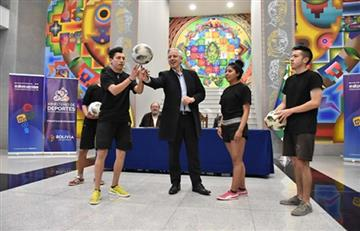 García Linera presenta convocatoria para juegos estudiantiles y olimpiadas científicas 2019